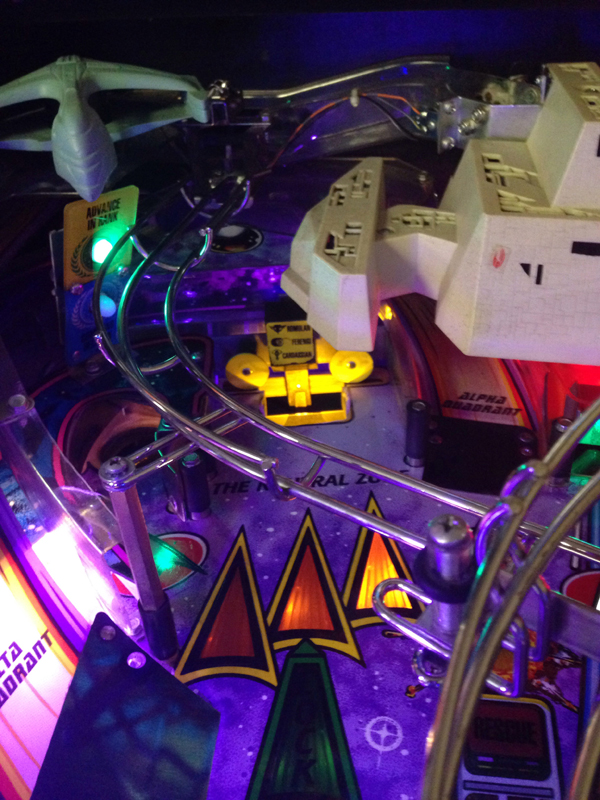 Neutral Zone Light for Star Trek the Next Generation Pinball Machine