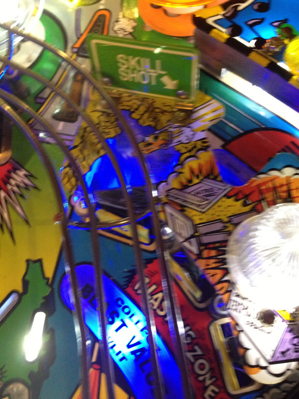 Blast Zone Light for Road Show Pinball Machine